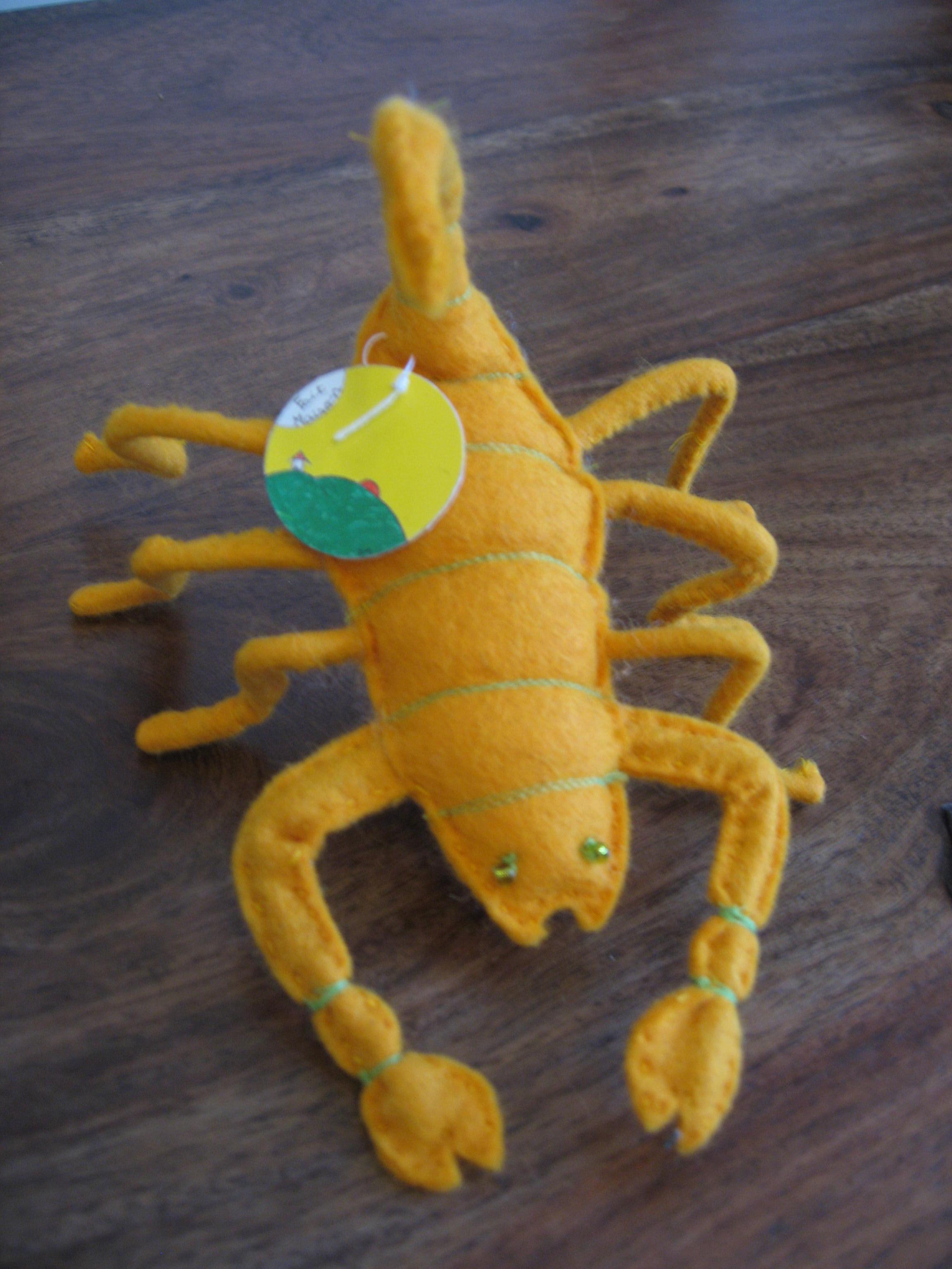 scorpion peluche